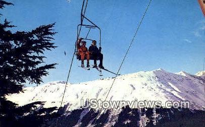 Mt. Alyeska, Alaska,;   Mt. Alyeska, AK Postcard