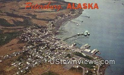 Petersburg, Alaska,;   Petersburg, AK Postcard