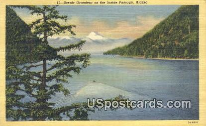 Inside Passage Postcard     ,     Inside Passage - Alaska AK