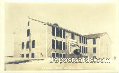Real Photo - US School of Mines - Fairbanks, Alaska AK Postcard