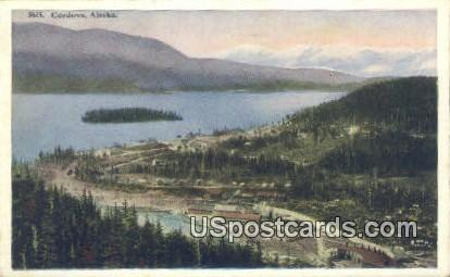 Cordova Postcard     ,     Cordova - Alaska AK