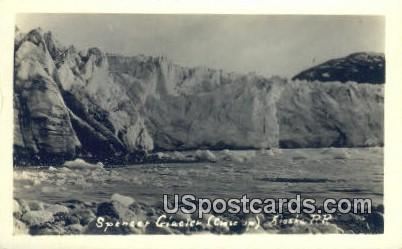 Spencer Glacier Postcard     ,     Spencer Glacier - Alaska AK