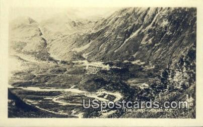 Real Photo - The Loop - Alaska RR Postcards, Alaska AK Postcard