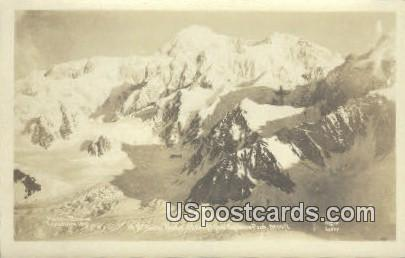 Real Photo - Parker Browne Expedition - Explorers Peak, Alaska AK Postcard