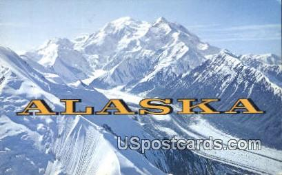 Mt. McKinley Postcard     ,     Mt. McKinley - Alaska AK