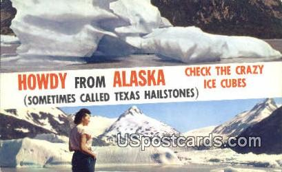 Alaskan Iceberg - Pacific Ocean Postcard