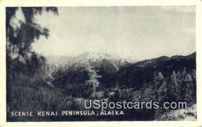 Kenai Peninsula Postcard     ,     Kenai Peninsula - Alaska AK