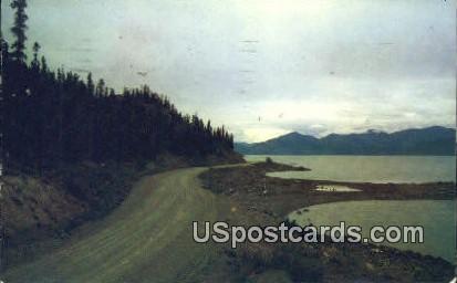 Kluane Lake Postcard     ,     Kluane Lake - Alaska AK