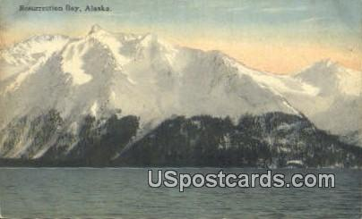 Resurrection Bay Postcard     ,     Resurrection Bay - Alaska AK
