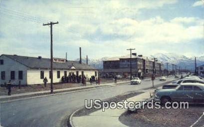 Post Exchange - Elmendorf AFB, Alaska AK Postcard
