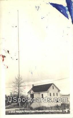 Real Photo Alaska Council Chambers - Metlakatla Postcard