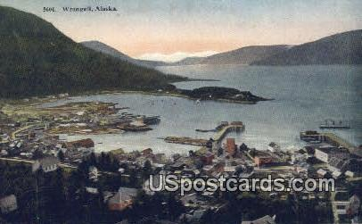 Wrangell Postcard     ,     Wrangell - Alaska AK
