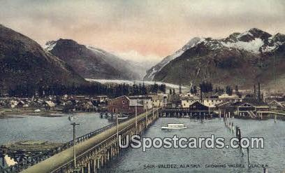 Valdez Glacier - Alaska AK Postcard