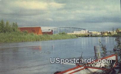 Chena River Postcard     ,     Chena River - Alaska AK