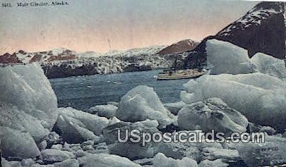 Muir Glacier Postcard     ,     Muir Glacier - Alaska AK