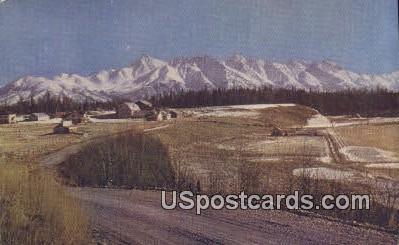 Matanuska Valley Postcard     ,     Matanuska Valley - Alaska AK