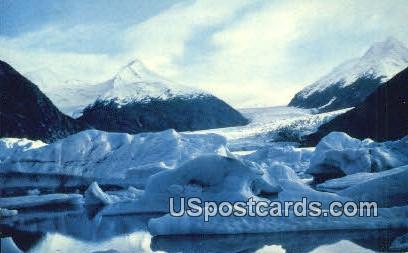 Portage Glacier Postcard     ,     Portage Glacier - Alaska AK