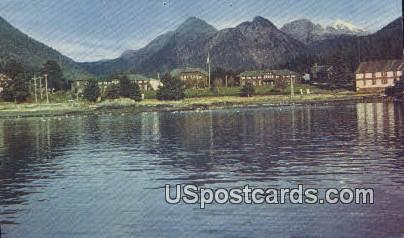 Sheldon Jackson Junior College - Sitka, Alaska AK Postcard