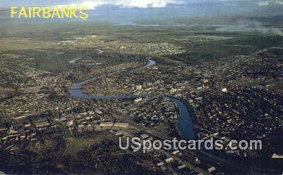 Fairbanks Postcard     ,     Fairbanks - Alaska AK