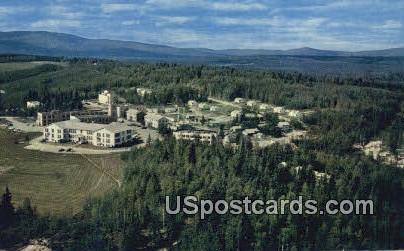 University of Alaska - Fairbanks Postcard