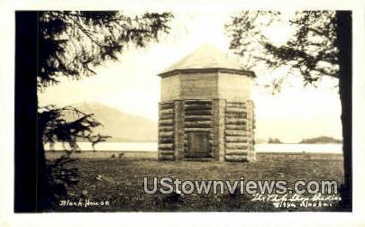 Block House - Sitka, Alaska AK Postcard