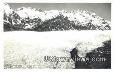 Spencer Glacier, AK,;    Spencer Glacier, Alaska Postcard