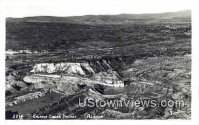 Cripple Creek Dredge, Alaska,;   Cripple Creek Dredge, AK Postcard