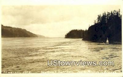 Seymour Narrows - Inside Passage, Alaska AK Postcard