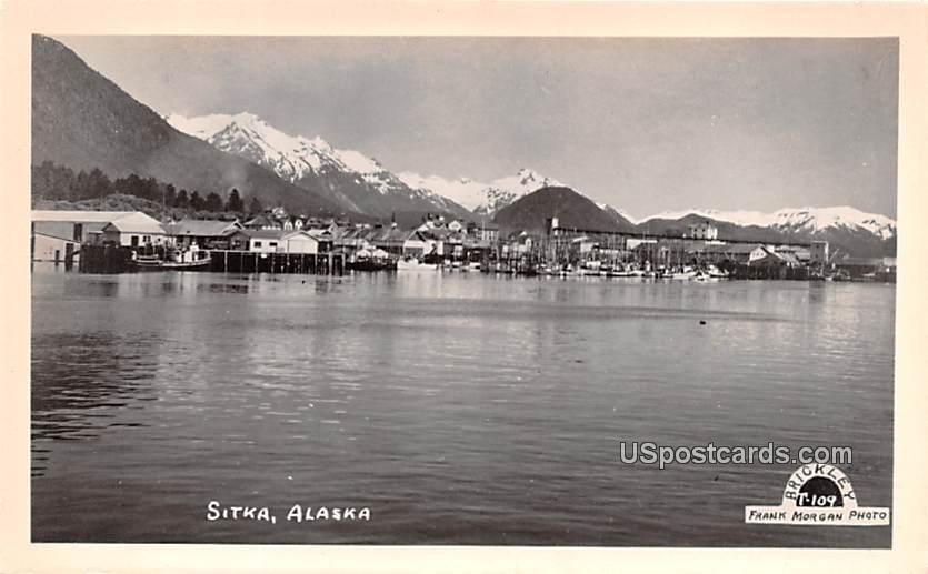 Lake View - Sitka, Alaska AK Postcard