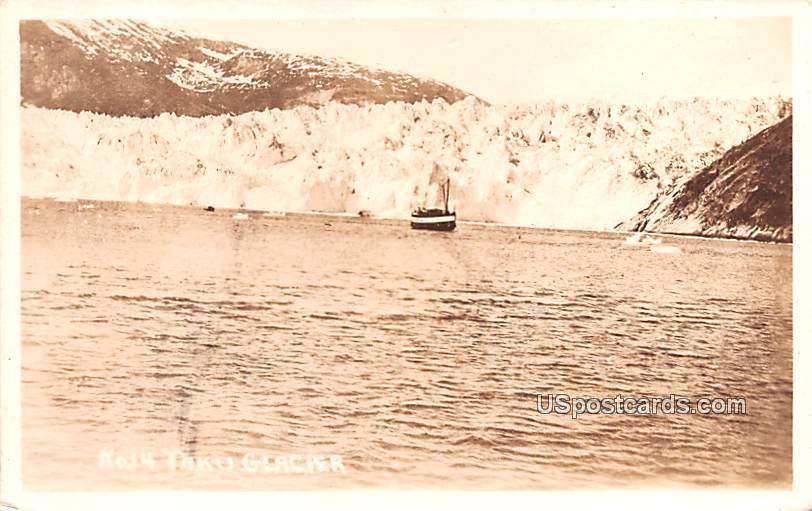 Water View - Taku Glacier, Alaska AK Postcard