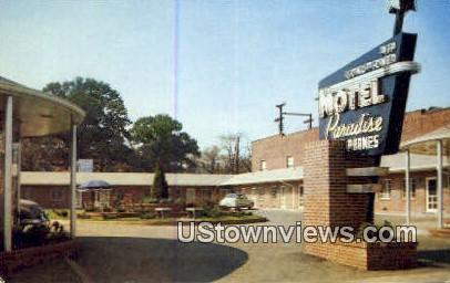 Motel paradise - Birmingham, Alabama AL Postcard