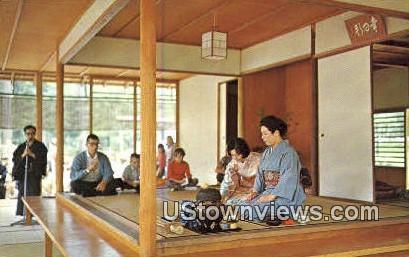 Japanese Tea Ceremony - Birmingham, Alabama AL Postcard
