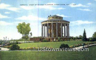 Vestavia, Crest of Shades Mountain - Birmingham, Alabama AL Postcard