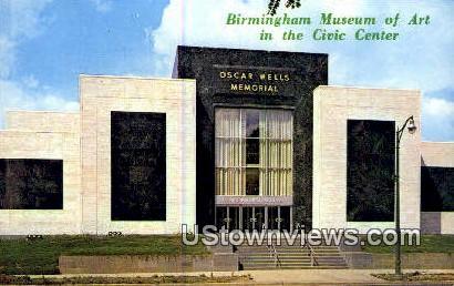 Birmingham Museum of Art - Alabama AL Postcard