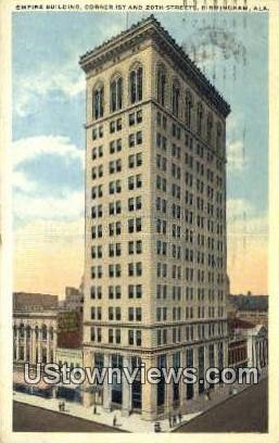 Empire Bldg - Birmingham, Alabama AL Postcard
