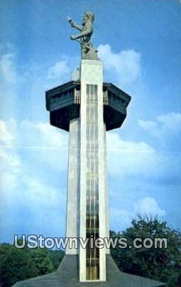 Vulcan Park - Birmingham, Alabama AL Postcard