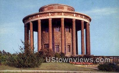 Vestavia Temple & Gardens - Birmingham, Alabama AL Postcard
