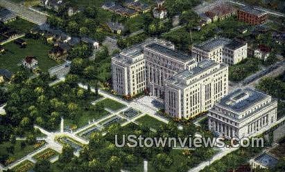 Court House - Birmingham, Alabama AL Postcard