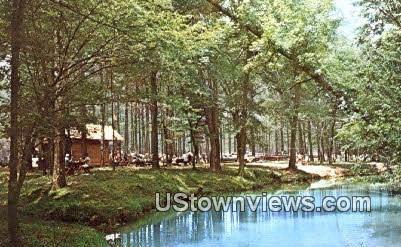 Tannehill State Park - Alabama AL Postcard