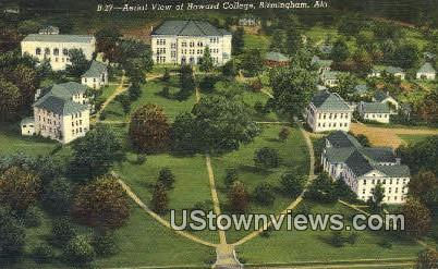 Howard College - Birmingham, Alabama AL Postcard