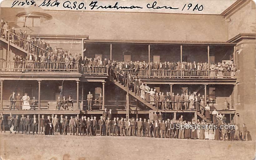 ASO Freshman - Birmingham, Alabama AL Postcard