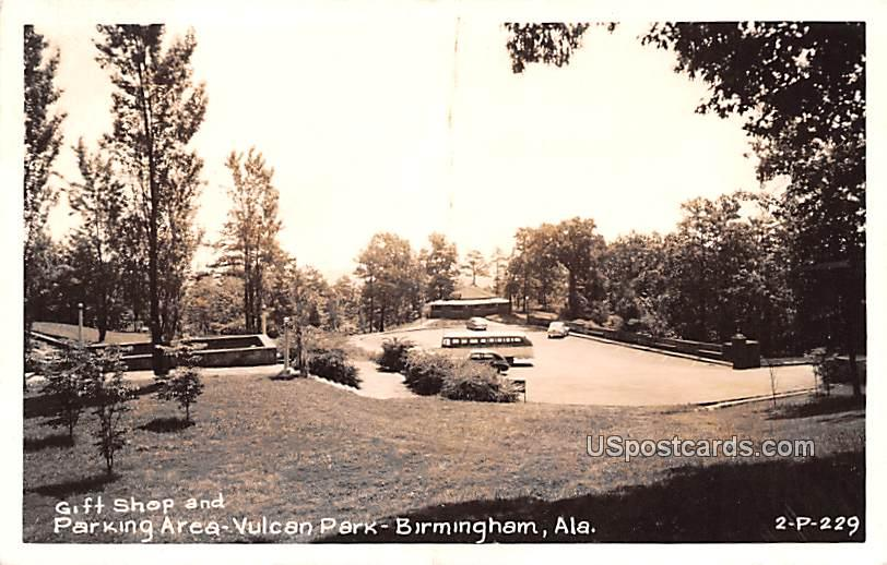 Parking Area - Birmingham, Alabama AL Postcard
