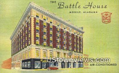 The Battle House - Mobile, Alabama AL Postcard
