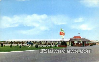 Woody's Motel - Daphne, Alabama AL Postcard