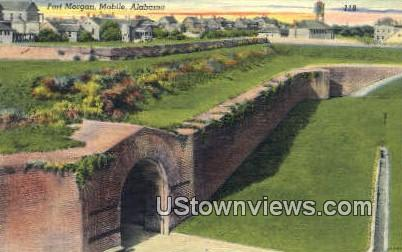 Fort Morgan - Mobile, Alabama AL Postcard