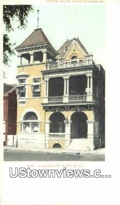 Athelstan Club - Mobile, Alabama AL Postcard