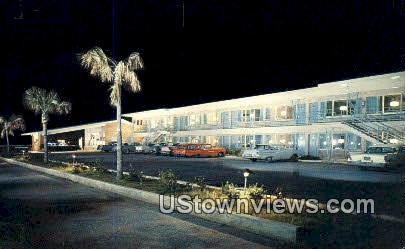 Mobile Motor Lodge - Alabama AL Postcard
