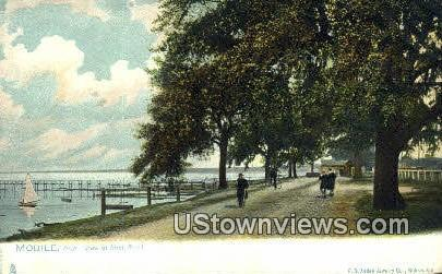 Shell Road - Mobile, Alabama AL Postcard