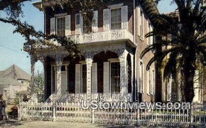 Richards House - Mobile, Alabama AL Postcard