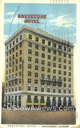 Greystone Hotel - Montgomery, Alabama AL Postcard